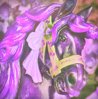 Ride Of Old Purples Art Print
