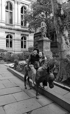 Photograph - Ride The Donkey by Rob Hans