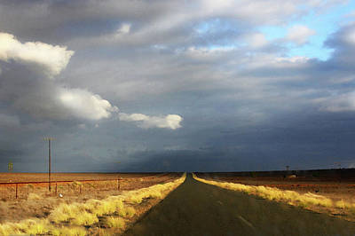 Photograph - Riding Into The Storm by Images Unlimited