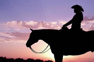 Photograph - Riding by Kirstie Marie Jones