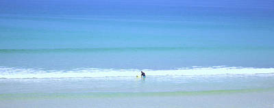 Sports Royalty-Free and Rights-Managed Images - Riding The Waves by Martin Newman