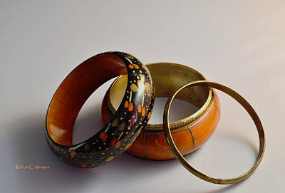 Photograph - Rigid Bracelets by Kae Cheatham