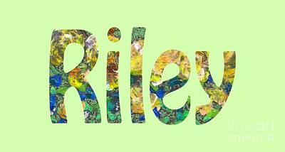 Digital Art - Riley by Corinne Carroll