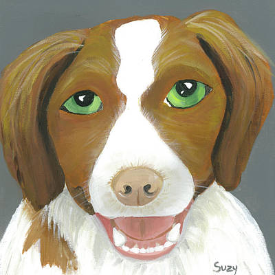 Painting - Riley by Suzy Mandel-Canter