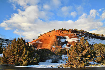 Photograph - Rim Rock Drive In Colorado National Monument by Ray Mathis