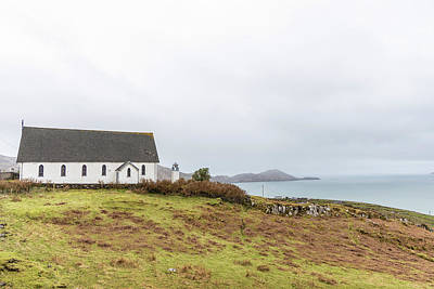 Photograph - Ring Of Kerry Ireland Church by John McGraw