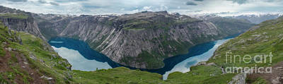 Photograph - Ringedalsvatnet Panorama by Peng Shi