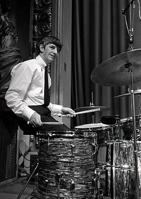 Beatles Photograph - Ringo Starr, Drummer Of The Beatles Pop by Popperfoto
