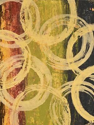 Avondet Wall Art - Painting - Rings Of Engagement I  by Natalie Avondet