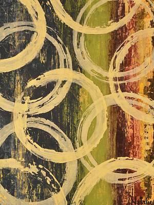 Avondet Wall Art - Painting - Rings Of Engagement II  by Natalie Avondet
