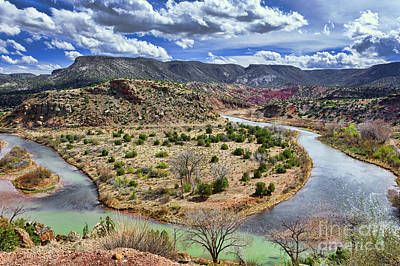 Photograph - Rio Chama by Susan Warren