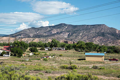 Photograph - Rio Chama Valley Homes by Tom Cochran