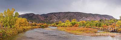 Photograph - Rio Grande Del Norte As It Makes Its Way Through Orilla Verde - Pilar New Mexico by Silvio Ligutti