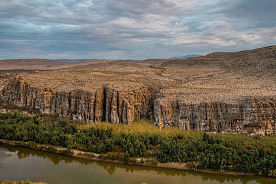Photograph - Rio Grande Evening by Matthew Irvin