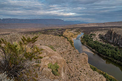 Photograph - Rio Grande Overlook No. 1 by Matthew Irvin