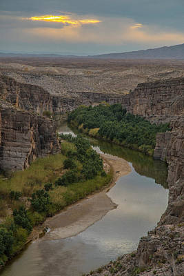 Photograph - Rio Grande Reflections by Matthew Irvin