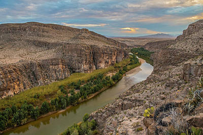 Photograph - Rio Grande Sunset by Matthew Irvin