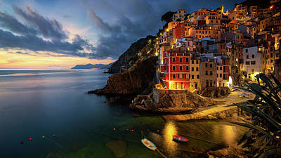 Photograph - Riomaggiore IT by Fred Gramoso