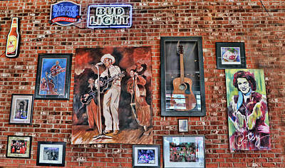 Photograph - Rippy's Bar And Grill # 2 - Nashville by Allen Beatty