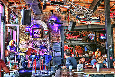 Photograph - Rippy's Bar And Grill - Nashville by Allen Beatty