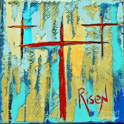 Mixed Media - Risen by Jessica Eli
