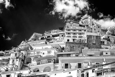 Photograph - Rising Positano Infrared by John Rizzuto