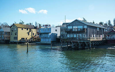 Photograph - Rising Tide In Coupeville by Tom Cochran
