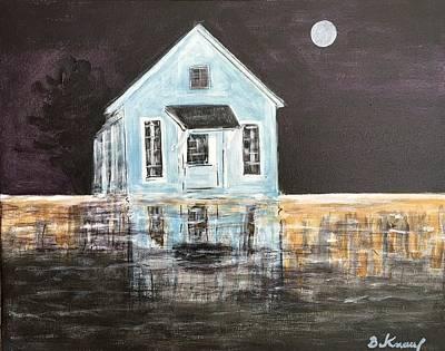 Painting - Rising Waters by Barbara Anna Knauf