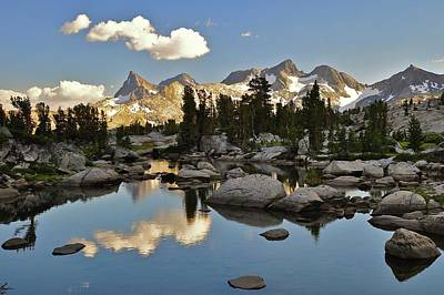 Photograph - Ritter Range, Ansel Adams Wilderness by Stevedunleavy.com