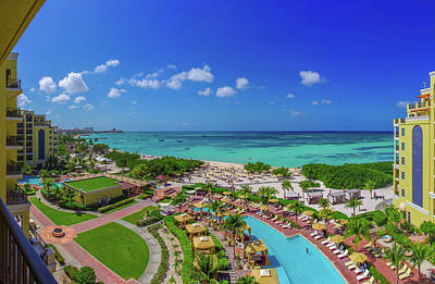 Photograph - Ritz-carlton Aruba by Scott McGuire