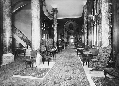Ritz Interior Art Print by H. C. Ellis