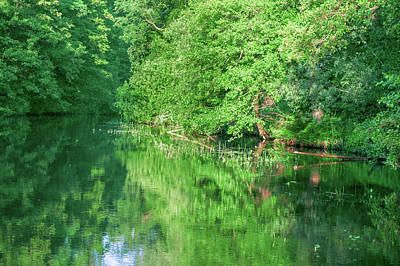 Photograph - River Bend In The Spreewald by Sun Travels
