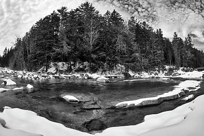Photograph - River Bend, Rocky Gorge 2 N H by Michael Hubley