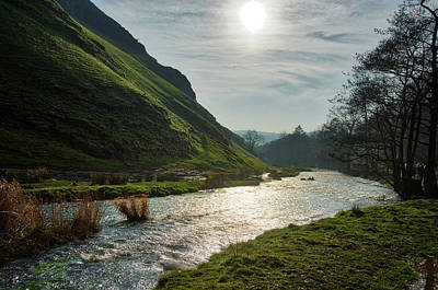 Photograph - River Dove Through Dovedale Valley by Scott Lyons