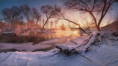 Photograph - River Portraiture In Evening Light by Vlad Sokolovsky