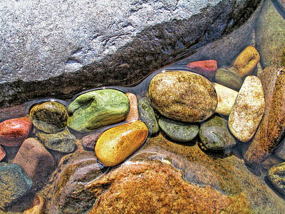 Photograph - River Rock Melody by Jennie Marie Schell