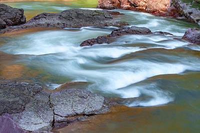 Photograph - River Runs Through It by Todd Klassy