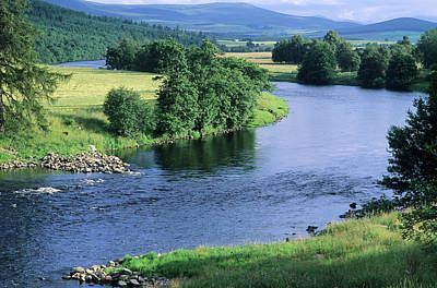 River Spey Near Grantown, Scottish Art Print by Neil Holmes