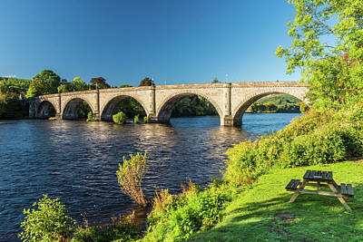 Photograph - River Tay, Dunkeld, Perthshire by David Ross
