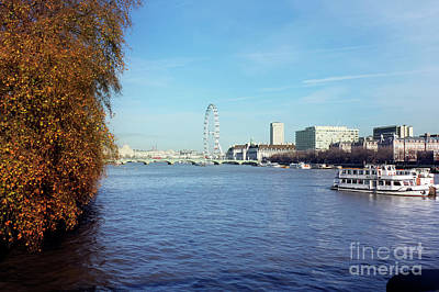 Photograph - River Thames London by Terri Waters