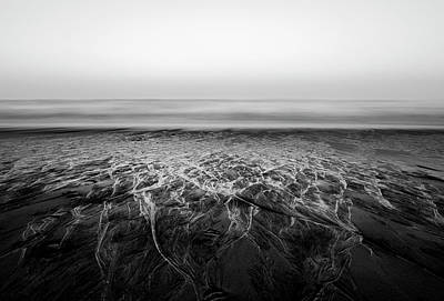 Photograph - Rivers Flowing Into The Night by Edgar Laureano