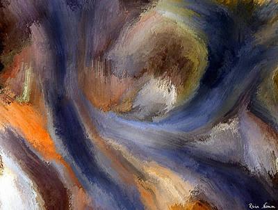 Digital Art - Raging Rivers Of Time by Rein Nomm