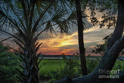 Photograph - Rivertowne Sunset Paradise by Dale Powell