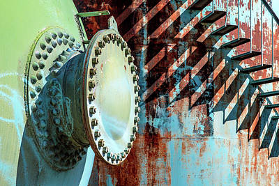 Photograph - Rivets And Rust by Todd Klassy