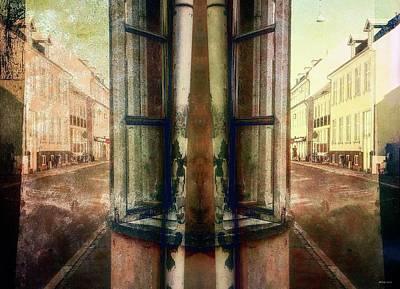 Digital Art - Road Bloack 18 by Ole Klintebaek