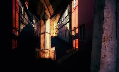 Digital Art - Road Block 15 by Ole Klintebaek