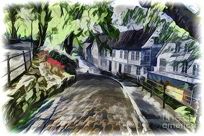 Painting - Road Home A1926 by Ray Shrewsberry