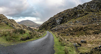 Photograph - Road To Ballaghisheen Pass Ireland by John McGraw