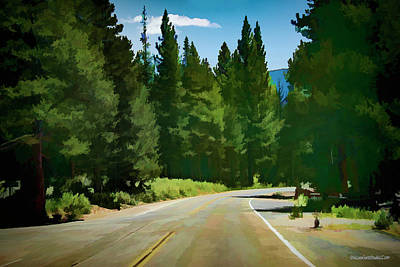 Photograph - Road To Echo Lake by LeeAnn McLaneGoetz McLaneGoetzStudioLLCcom