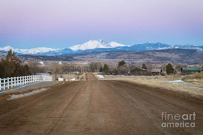 Photograph - Road To Longs Peak by Ronda Kimbrow